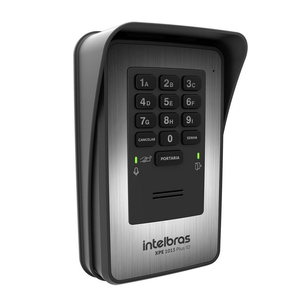 Porteiro Eletrônico De 13 Teclas Xpe 1013 Plus Id Intelbras