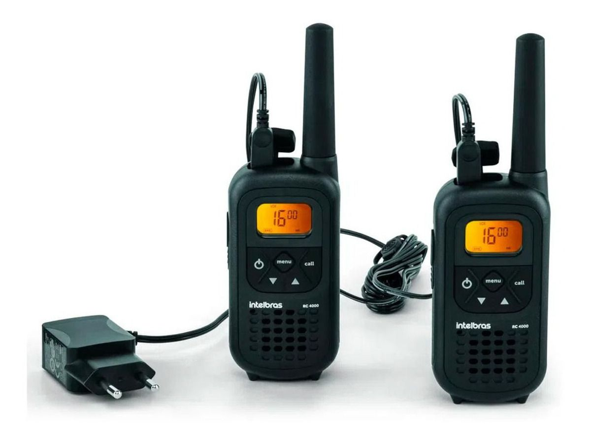 Rádio Comunicador Rc 4002 Intelbras