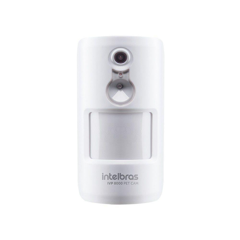 Sensor De Movimento Infravermelho Passivo Ivp 8000 Pet Cam Intelbras