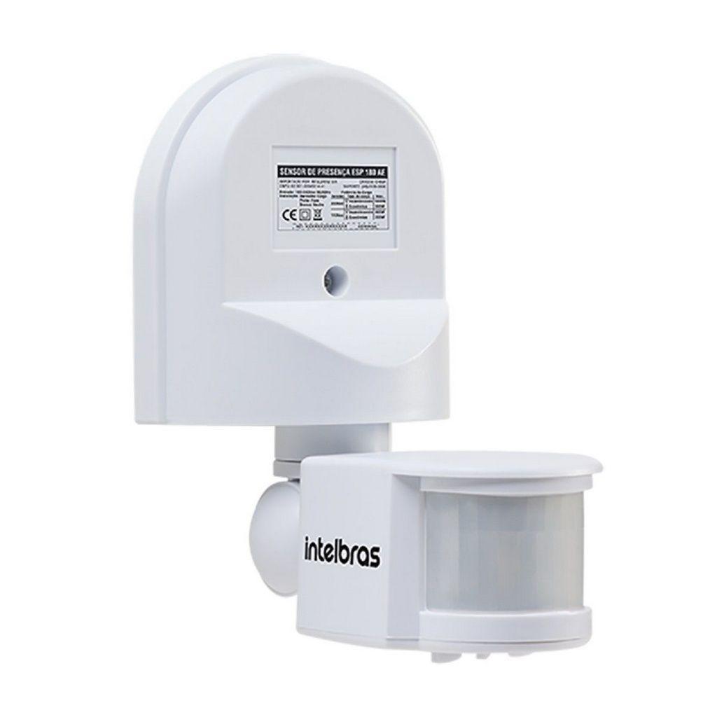 Sensor De Presença Para Iluminação Esp 180 Ae Intelbras