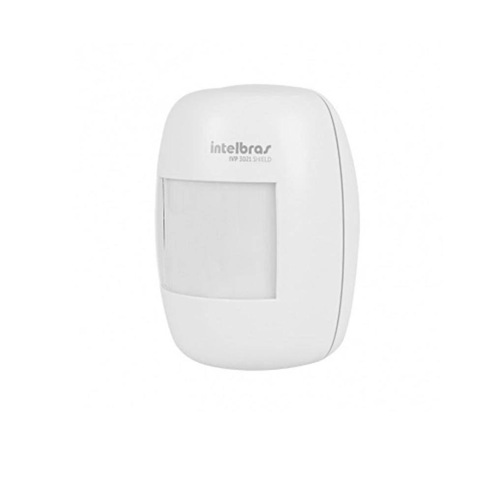 Sensor Ir Passivo Com Fio Ivp 3021 Shield Intelbras