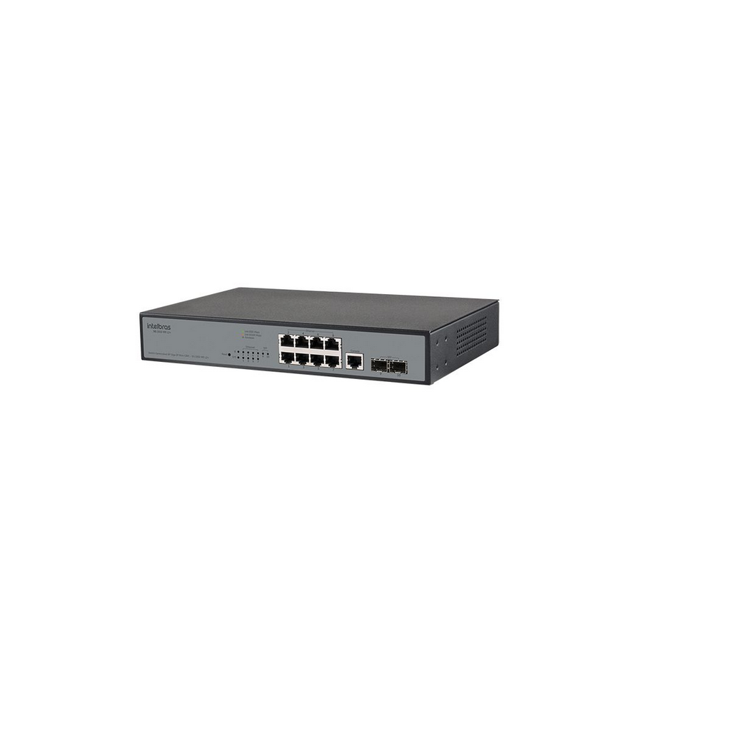 Sg 1002 Mr L2+ Switch Com 8 Portas Giga + 2 Portas Mini-gbic