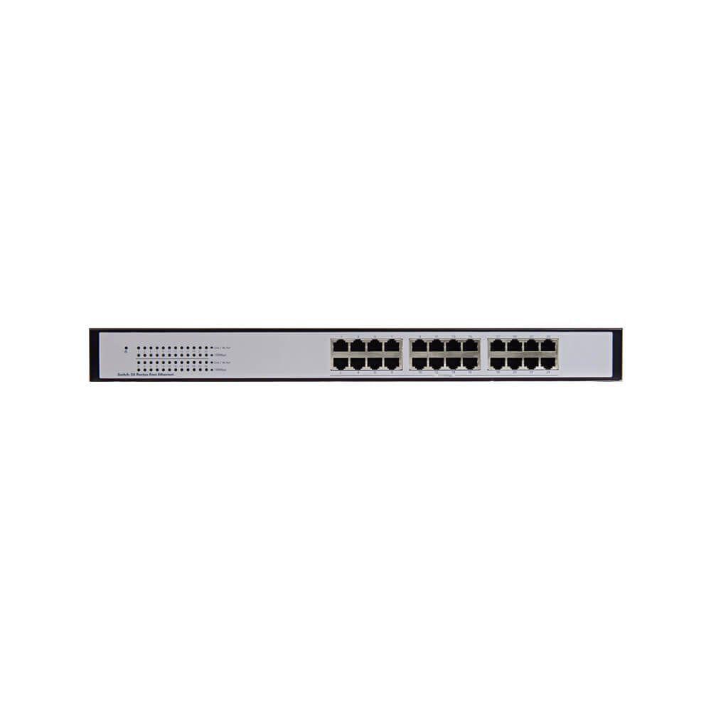 Switch 24 portas Gigabit Ethernet SG 2400 QR