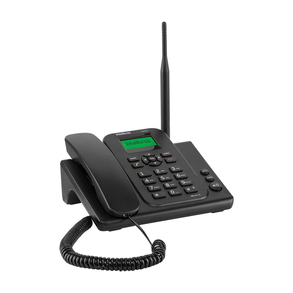 Telefone Celular Fixo Cfw 9041 Intelbras 4g com  Wi-fi