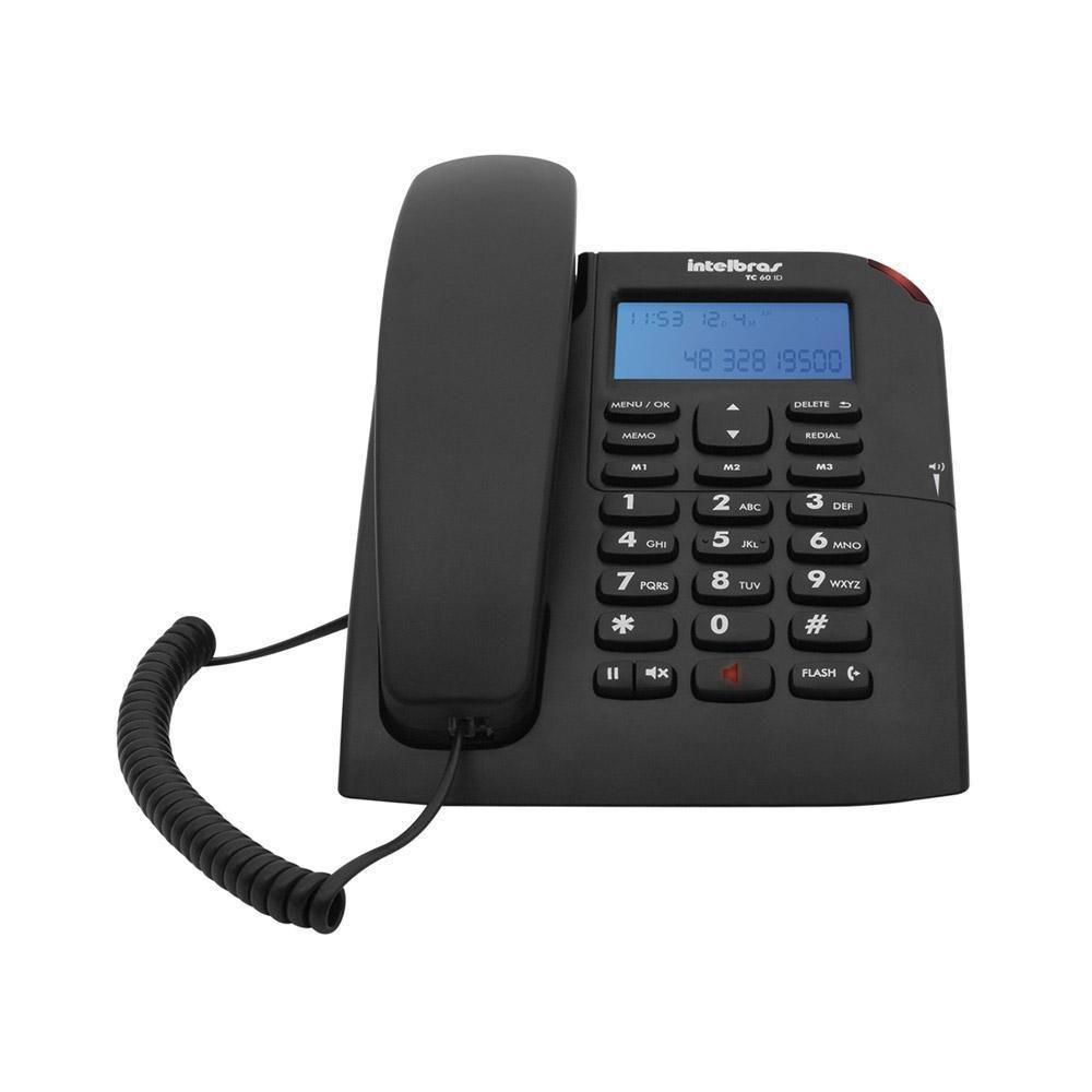 Telefone Identificador Chamadas Tc 60 Id Intelbras
