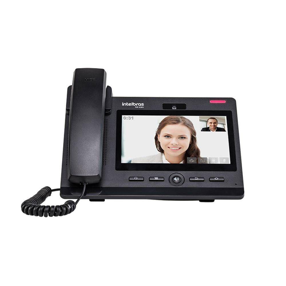 Telefone Ip Giga Tip 638v Intelbras