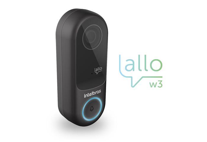 Videoporteiro Wi-fi Allo W3 Intelbras
