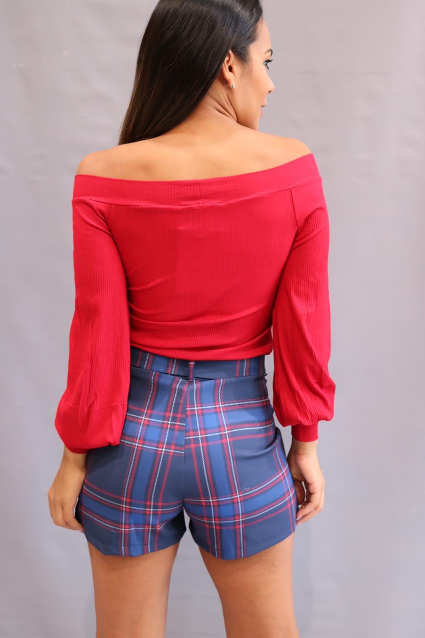 Blusa Canelada Ombro a Ombro Sly Wear  - Choque Concept