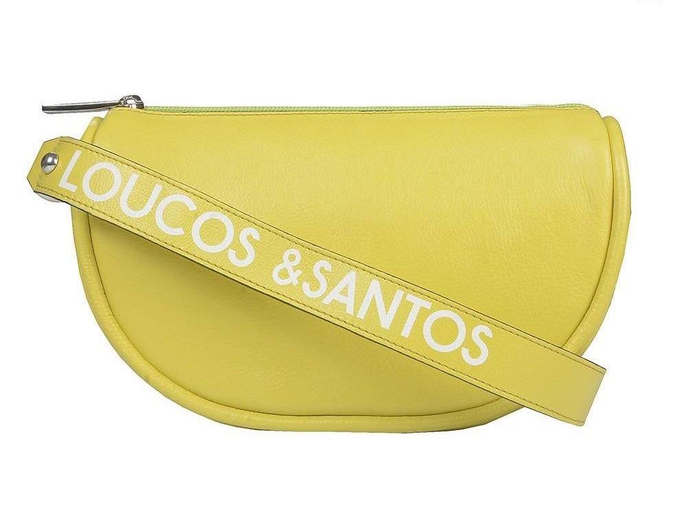 Bolsa Couro Napa Loucos e Santos  - Choque Concept