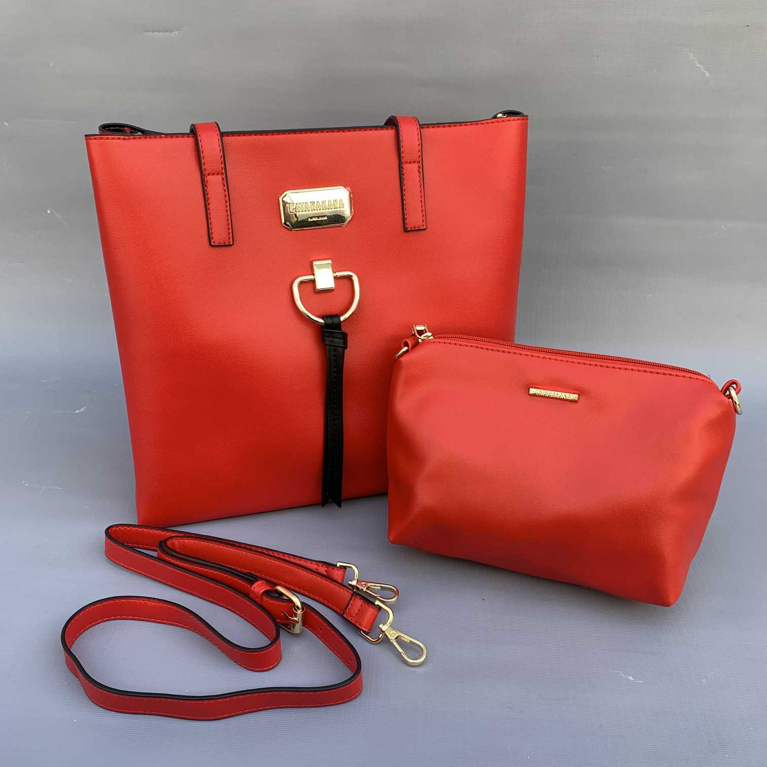 Bolsa + Necessaire Vermelha GB  - Choque Concept