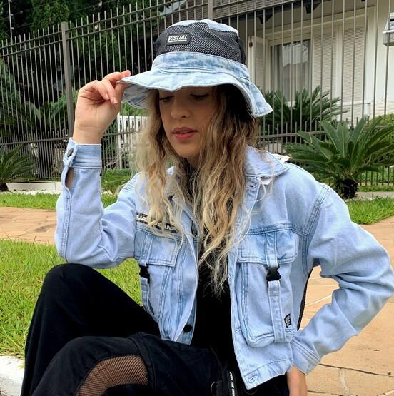 Bucket Tela Jeans Visual Jeans  - Choque Concept