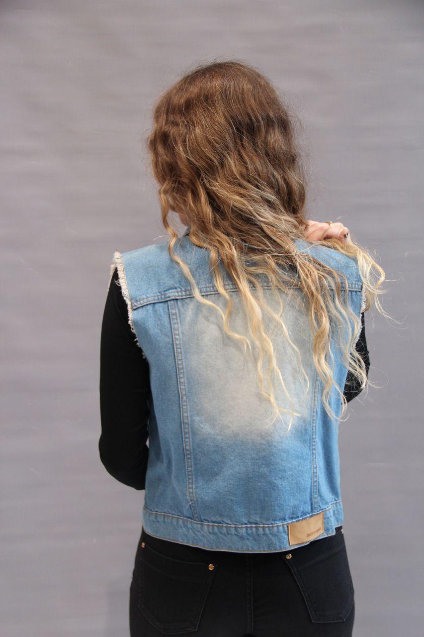 Colete Jeans   - Choque Concept