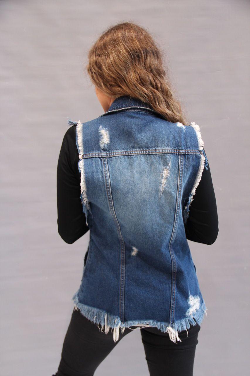 Colete Visual Jeans  - Choque Concept