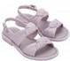 Lilás Velvet Sandal