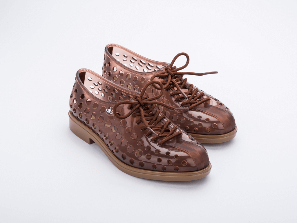 Melissa Touring Lace Up + Vivienne Westwood Anglomania  - Choque Concept