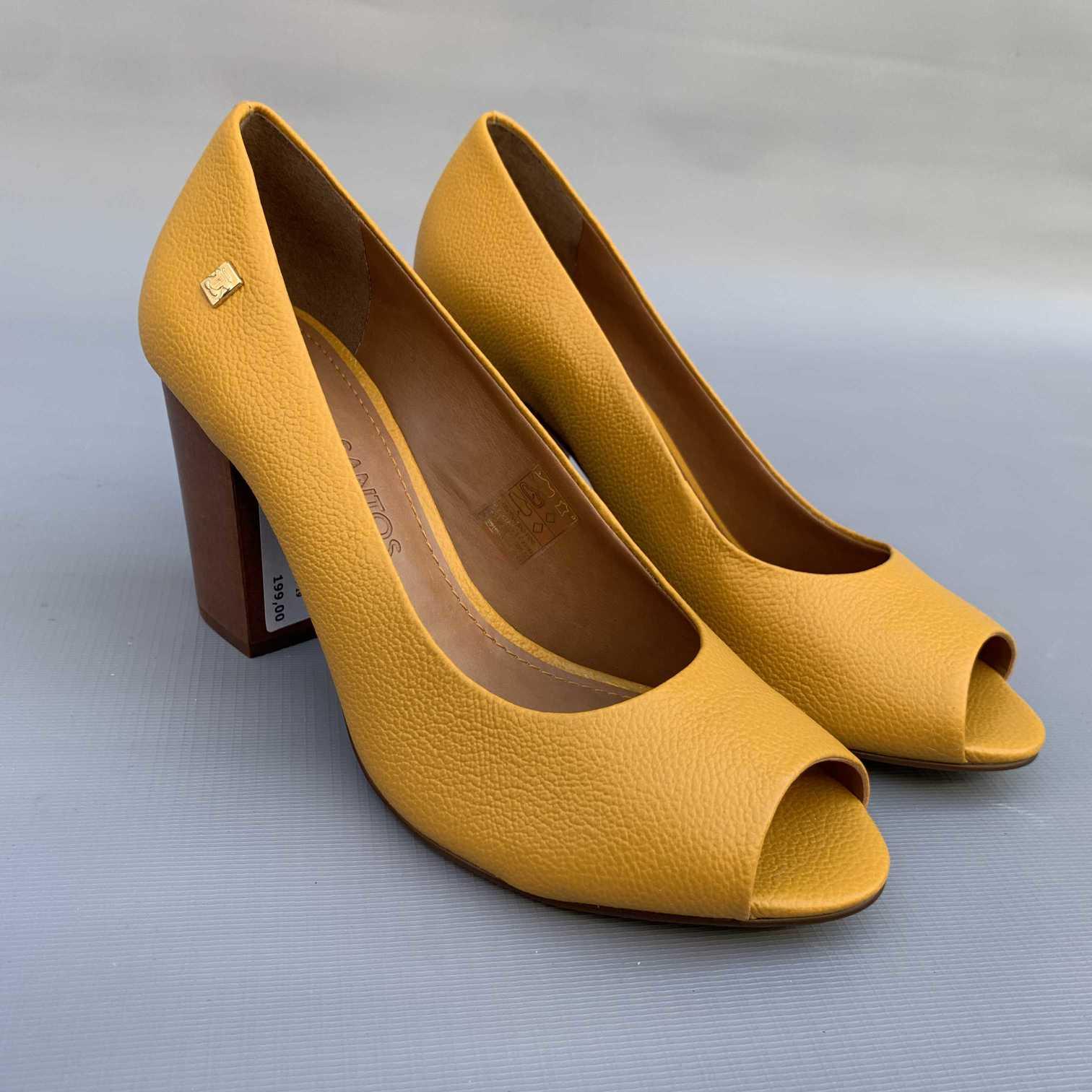 Peep Toe Floater Loucos e Santos  - Choque Concept