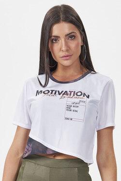 T-shirt Motivation Workout Gatabakana  - Choque Concept
