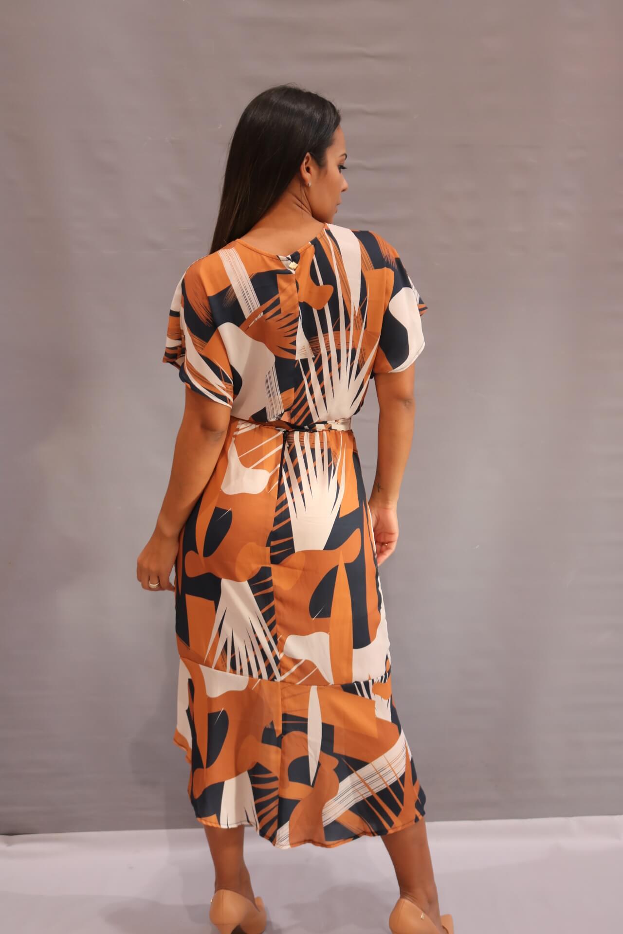 Vestido Midi Charry  - Choque Concept