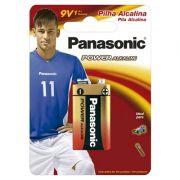 Bateria 9V Alcalina 1 Un. Panasonic