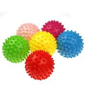 BOLINHA MINI MASSAGE BALL CORES SORTIDAS SUPERMEDY