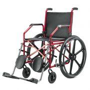 Cadeira De Rodas 1012 45 Vinho Courvin Jaguaribe