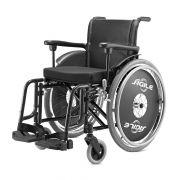 Cadeira De Rodas Ágile 44 Preta Jaguaribe