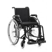 Cadeira De Rodas FIT 40 Preta Jaguaribe