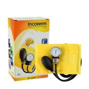 Esfigmomanômetro Aneróide EA100 Amarelo INCOTERM