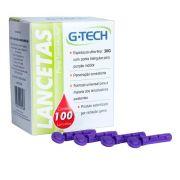 Lanceta Para Lancetador 30G CX C/ 100 Un. G-Tech