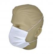 Máscara Cirúrgica Tripla com Elástico de Cabeça C/ 50 Un. Cremer