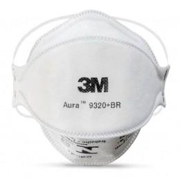 Máscara de Proteção Respirador Aura PFF-2 S 9320BR 3M