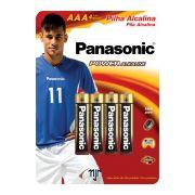 Pilha Alcalina Palito AAA C/ 4 Un. Panasonic