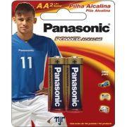 Pilha Alcalina Pequena AA C/ 2 Un. Panasonic