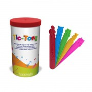 Porta Abaixador De Língua + 40 TIC-TONG Animal JR Agaplastic