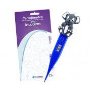 Termômetro Digital Kids Azul Com Cachorrinho Incoterm