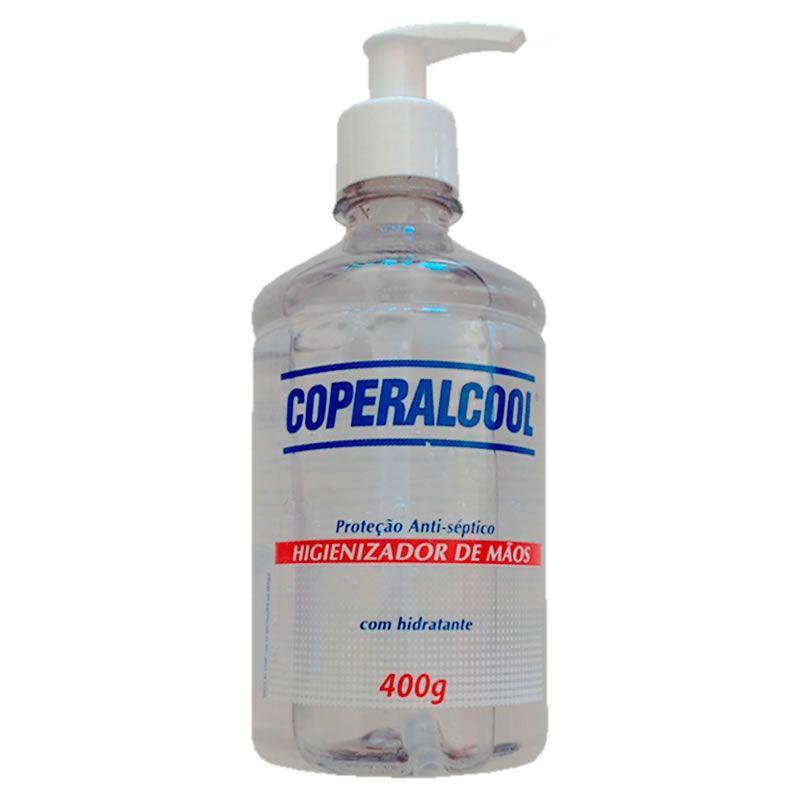 Álcool Gel Antisséptico Pump 400mL Coperalcool