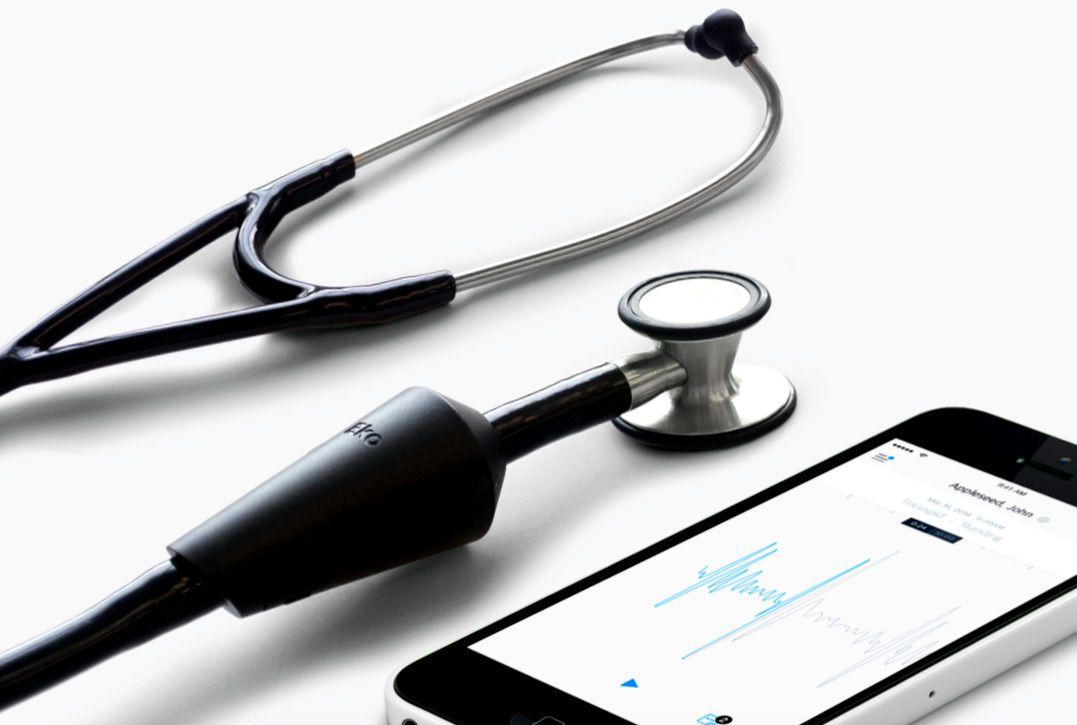 Amplificador para estetoscópio EKO CORE com Bluetooth MD