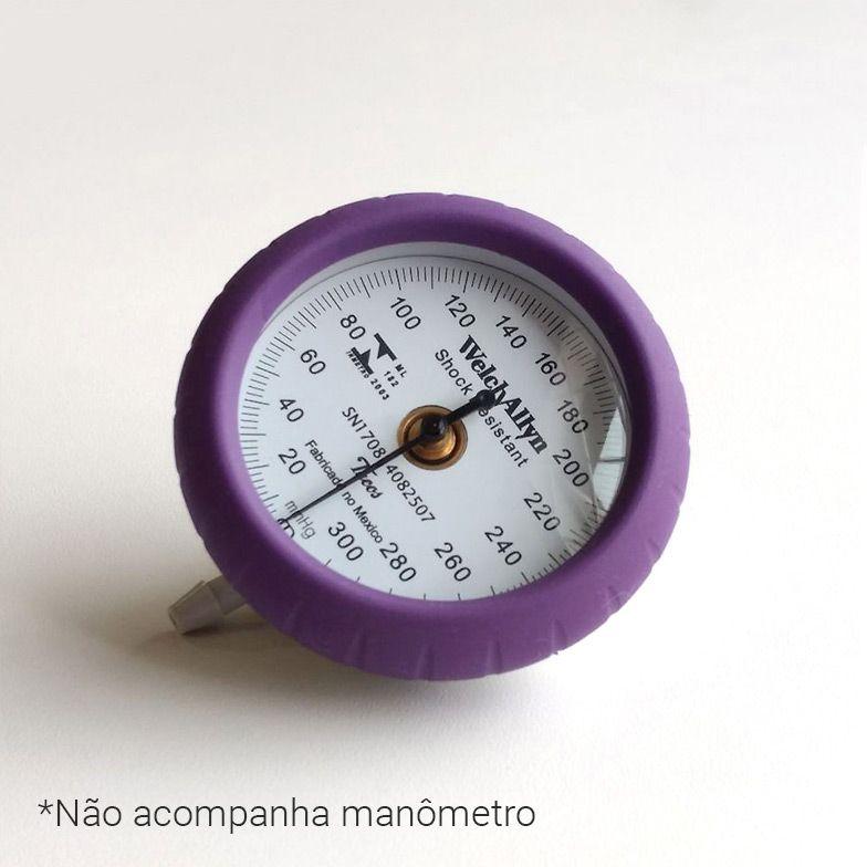 ANEL AMORTECEDOR LILÁS PARA DURASHOCK DS44 WELCH ALLYN