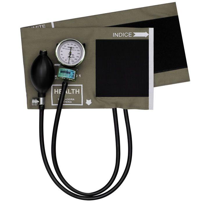 Aparelho De Pressão Adulto Algodão Velcro Mikatos Health