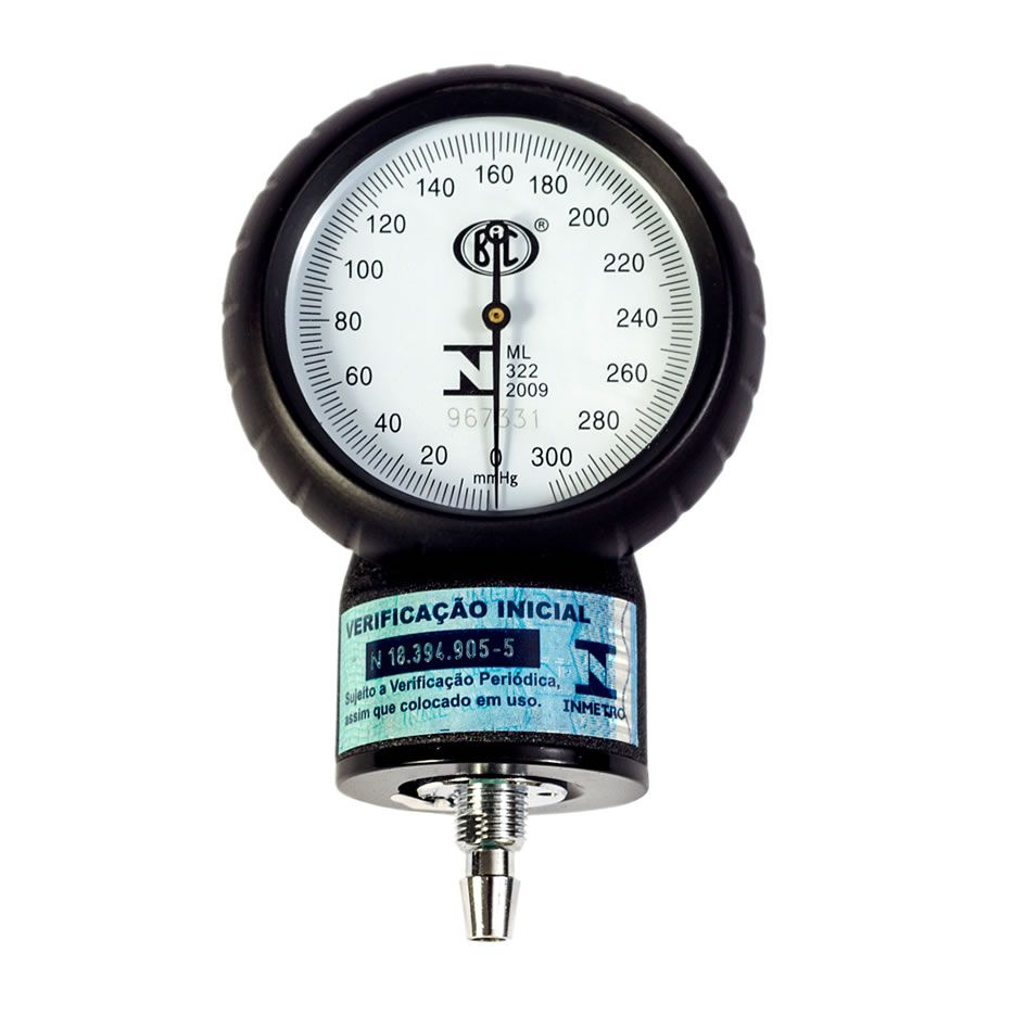 Aparelho de Pressão Adulto Brim Metal Cinza AP0113 BIC