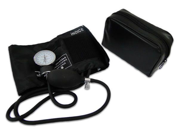 Aparelho de Pressão Adulto Velcro Preto Premium