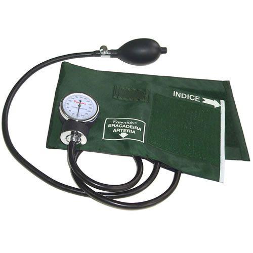 Aparelho de Pressão Adulto Velcro Verde Premium