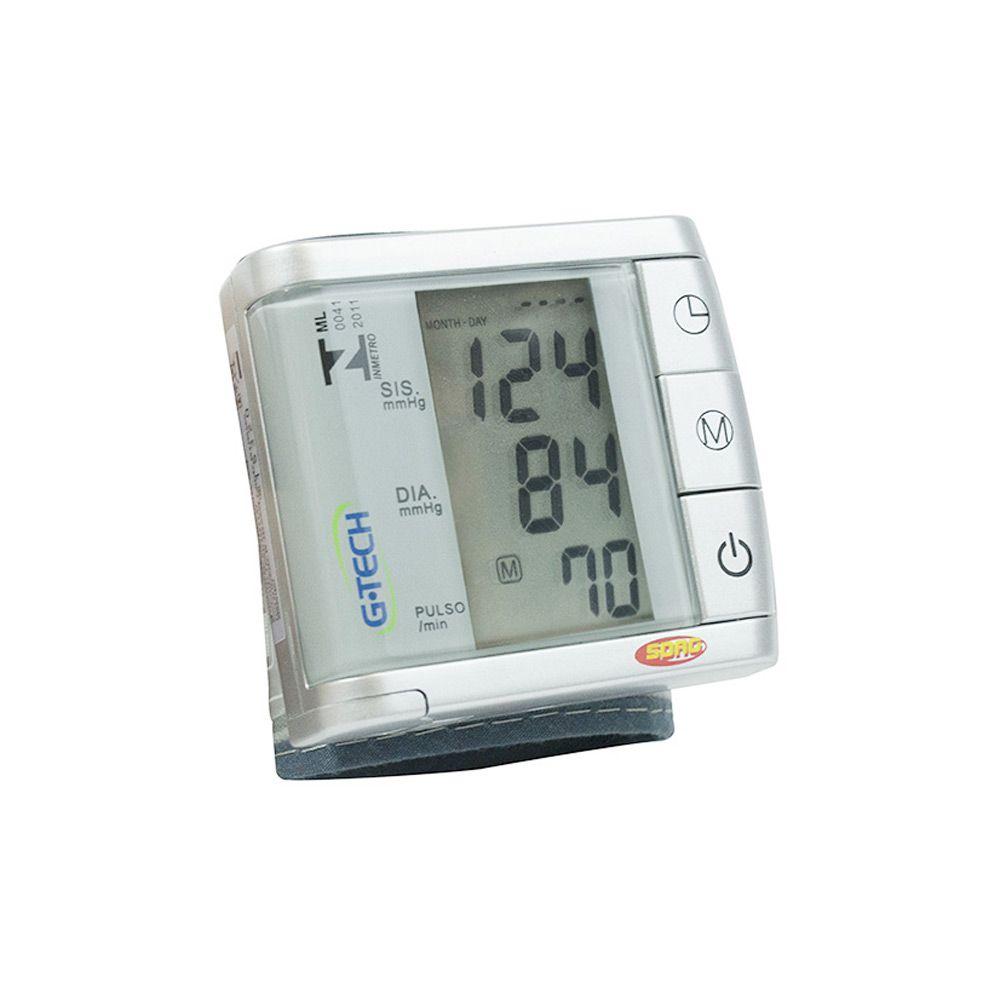 Aparelho De Pressão Digital De Pulso BP3BK1 G-Tech