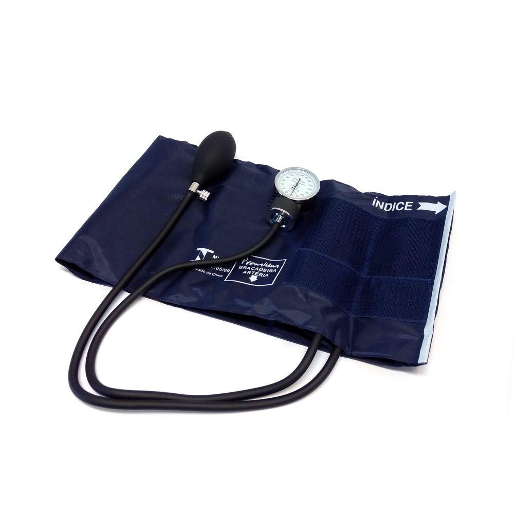 Aparelho De Pressão Grande/Obeso Nylon Velcro Premium