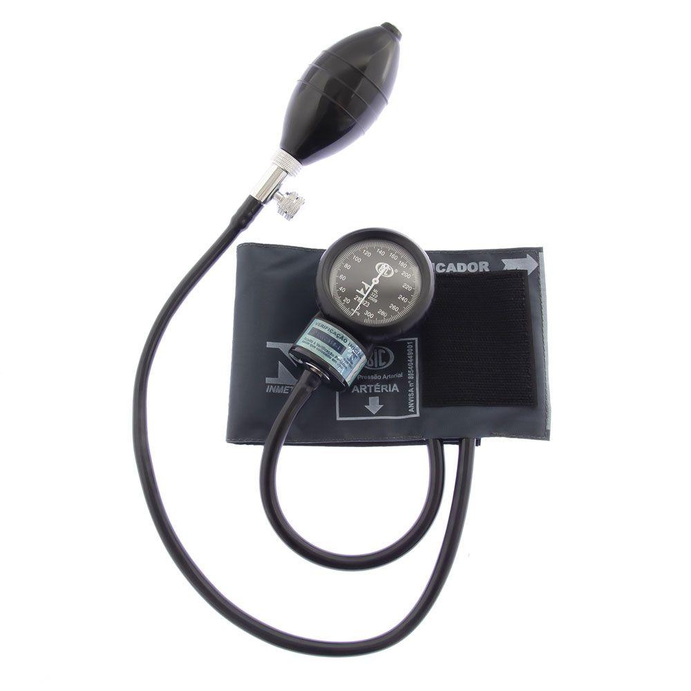 Aparelho de Pressão Infantil Nylon Velcro Cinza AP1712 BIC