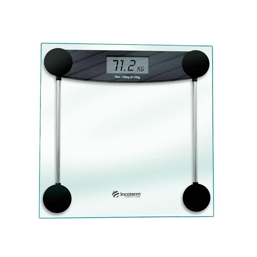 Balança Corporal Digital POP 150KG 28010 Incoterm