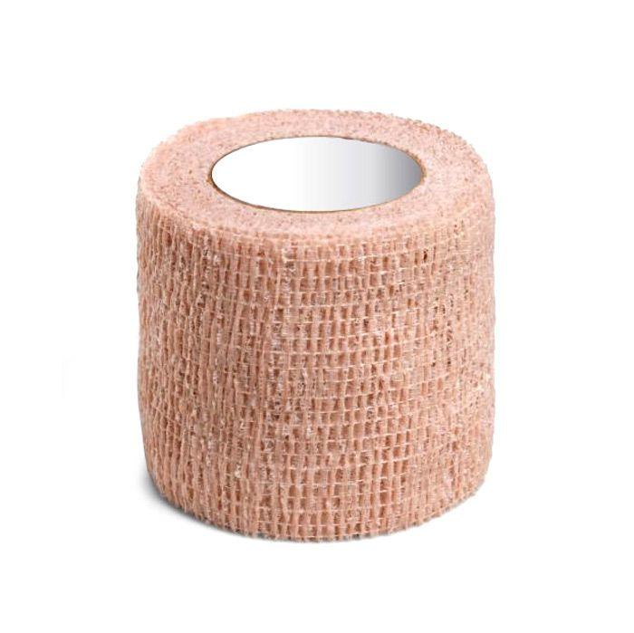 Bandagem Elástica Autoaderente 7,6cm x 4,5m Bege Cremer