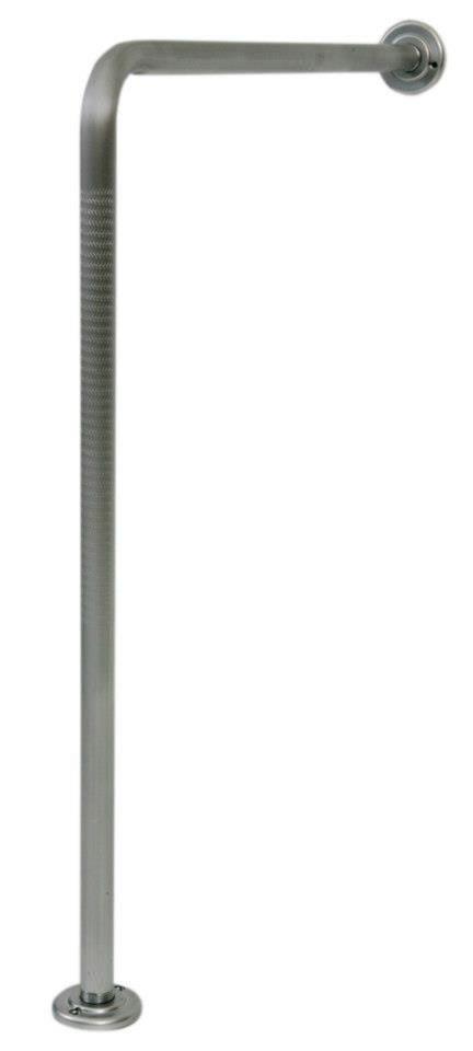 Barra De Apoio Em L 60x70cm Alumínio Sequencial