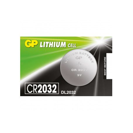 Bateria de Lítio 3V CR2032 GP