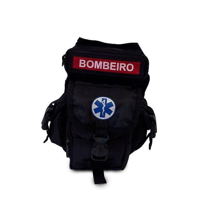 Bornal Para Bombeiro Cor Preto SAVE APH